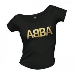 Abba gold Logo Férfi és Női póló