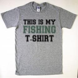 This is my Fishing T-shirt Férfi póló