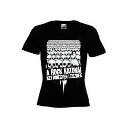 A rock katonái Férfi és Női póló