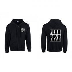 Fear The Walking Dead cipzáros pulóver