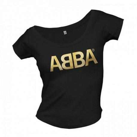 0ce40cdf1a Abba gold Logo Férfi és Női póló - Popshop