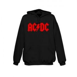 AC/DC Logo kapucnis