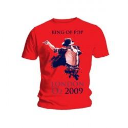 King Of Pop Férfipóló