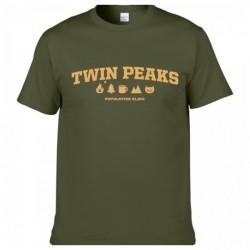 Twin Peaks Population Férfi és Női póló