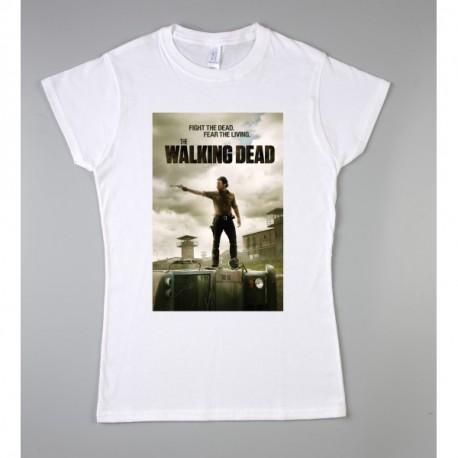 Walking Dead Poster Férfi és Női póló