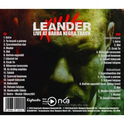 Leander Kills Live At Barba Negra Track CD+DVD