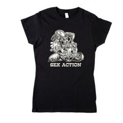 Sex Action - Bohóc Férfi és Női póló
