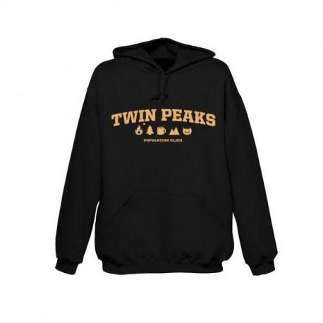Twin Peaks Population hoodie