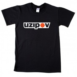 Uzipov Logo Férfi és Női póló