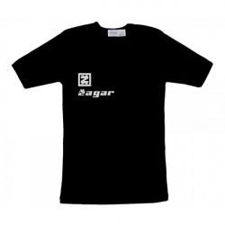 Zagar Black logo silver póló