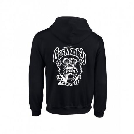 Gas Monkey Classic cipzáros pulóver