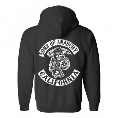 California Logo cipzáros pulóver