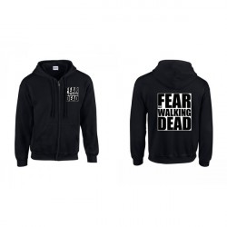 Fear The Walking Dead cipzáros pulóver