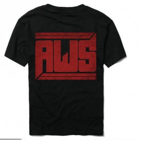 AWS Logo classic Férfi és Női póló