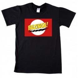 Bazinga logo Férfi és Női póló