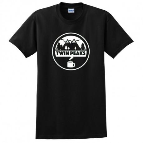 Twin Peaks Logo Férfi és Női póló