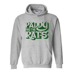 Paddy And The Rats Logo kapucnis pulóver