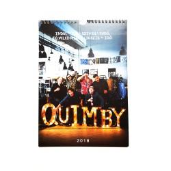 Quimby naptár 2018