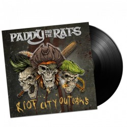 Paddy And The Rats - Riot City Outlaws LP LIMITÁLT
