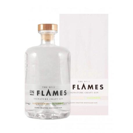 In Flames Gin Elderflower & Cucumber