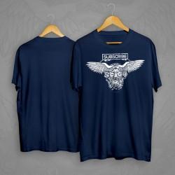 Subscribe - Wings navy férfi póló