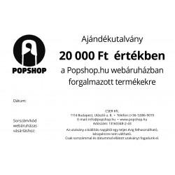 Ajándékutalvány - 20 000 Ft