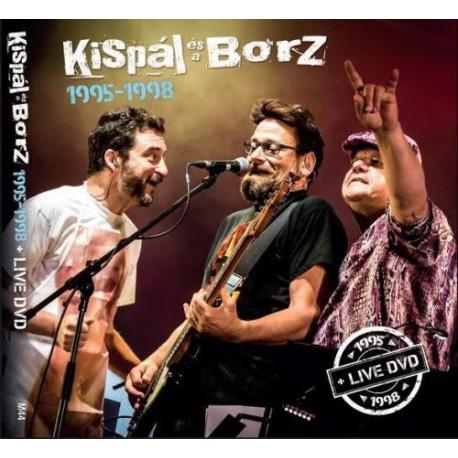 KISPÁL ÉS A BORZ - 1995-1998 ( 4 CD + DVD))