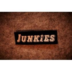 Junkies - Logo felvarró