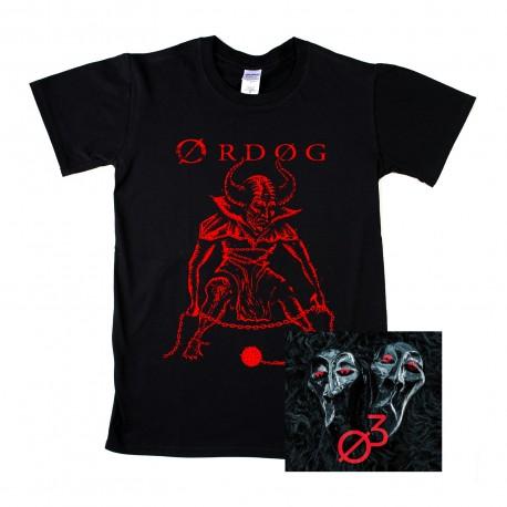 ORDOG - Ø3 CD + póló kombó