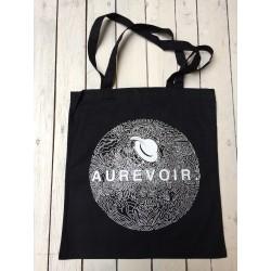Aurevoir. - fekete vászontáska