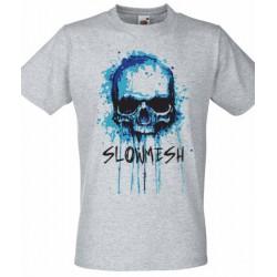 Slowmesh - Skull férfi és női póló