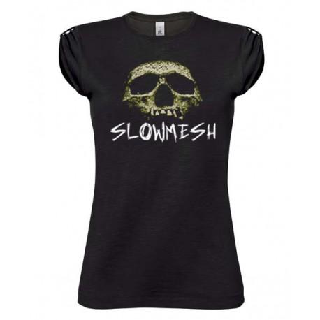 Slowmesh - Slowmesh fekete női ujjatlan