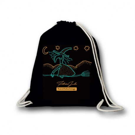 Save The Backstage - Fábián Juli - Boszorkányos tornazsák